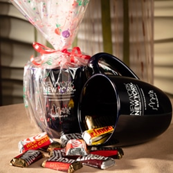 <b> Hershey Mug & Candy  <br/>25</b> <br/> Hershey Mug and Assorted Candy.