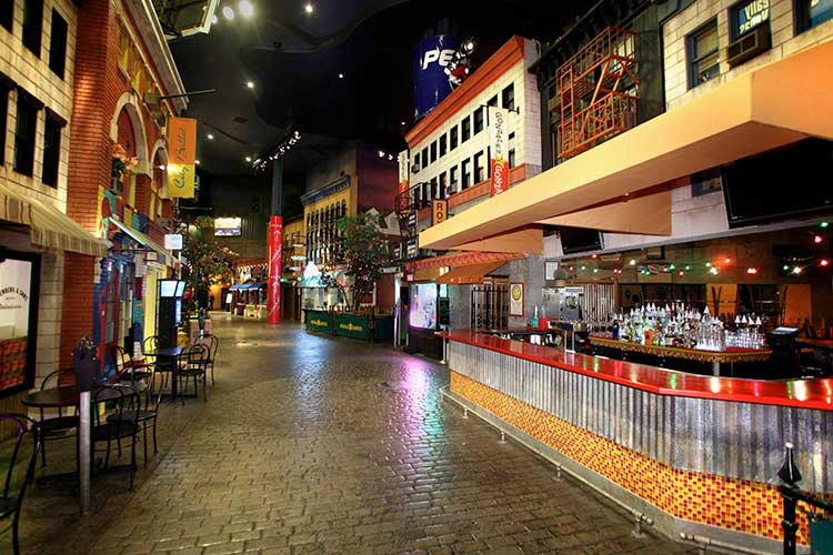 Village Streets Corporate Event Catering in New York NY Casino Las Vegas