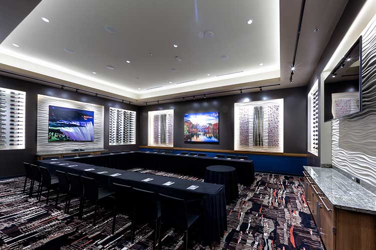 Private Catering Venue, Business Catering Venue in America Restaurant, NY NY Casino on the Las Vegas Strip